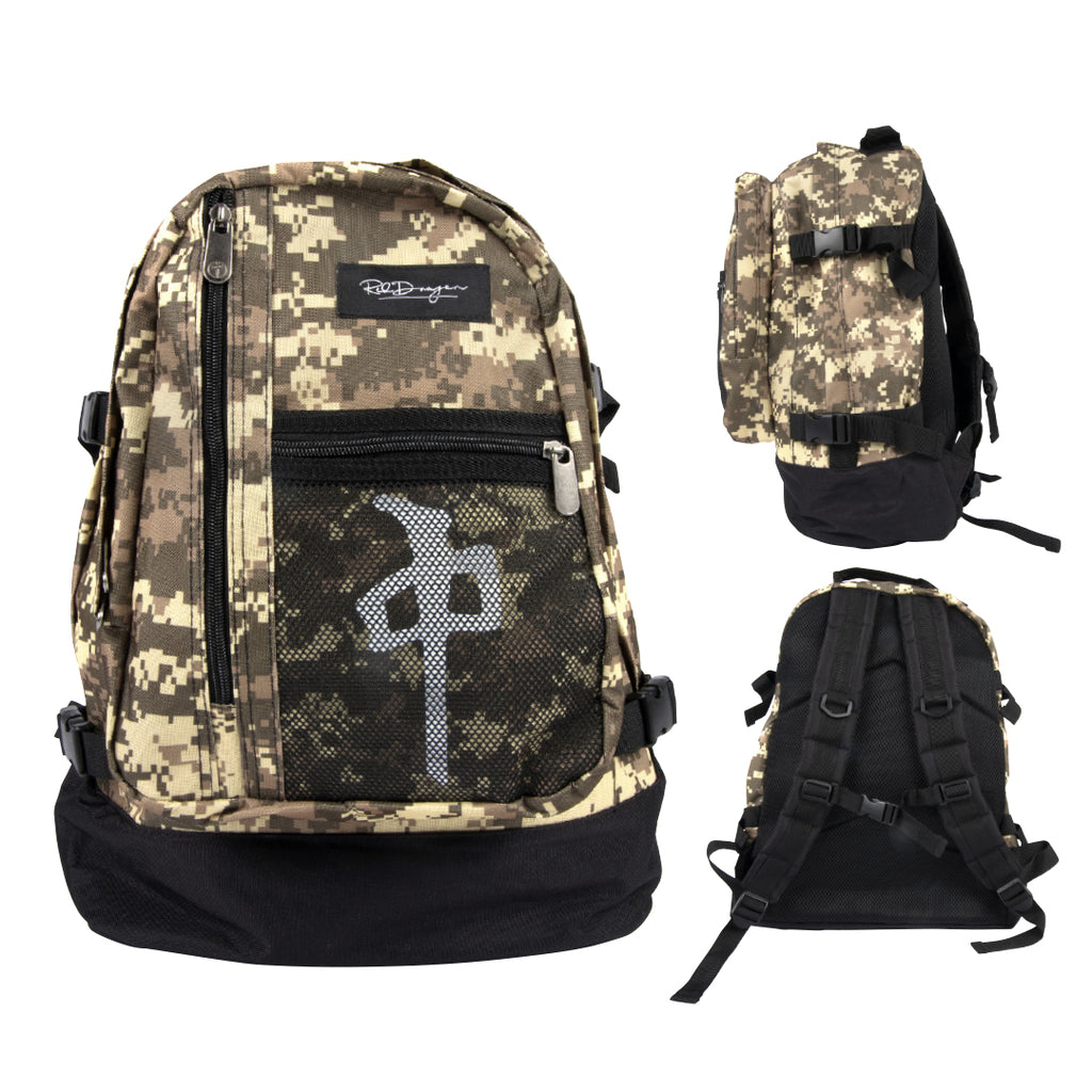 BACKPACK EXPLORER	 WOODLAND DG CAMO