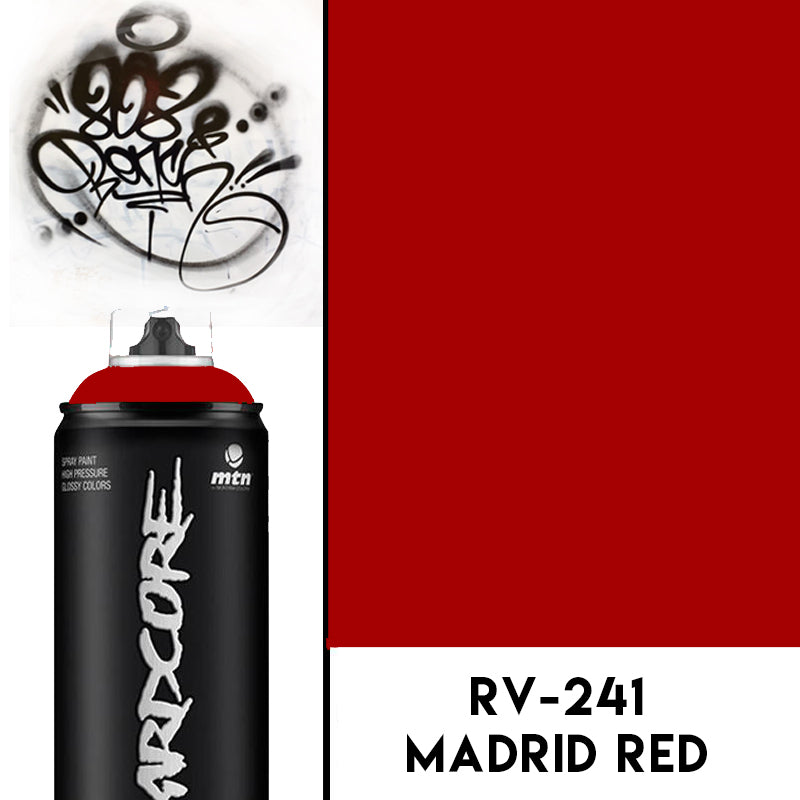 MTN Hardcore2 Madrid Red