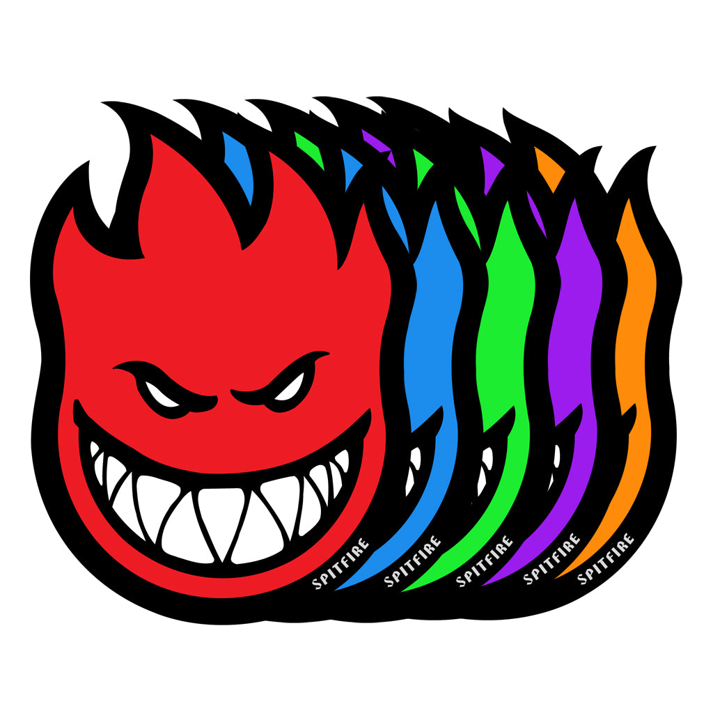 FIREBALL STICKER MED (SOLD AS SINGLES)