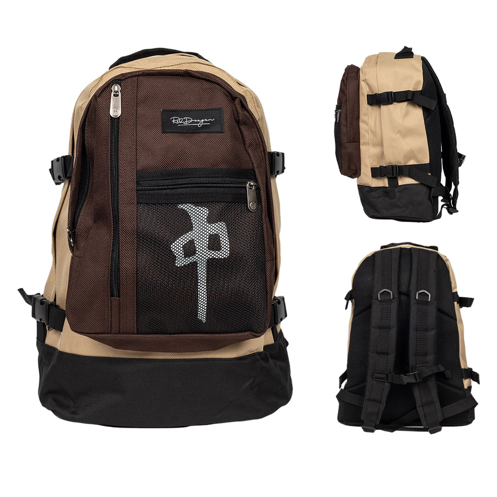 Khaki/Brown Backpack