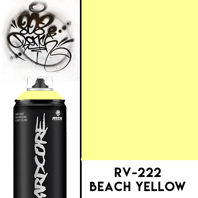 MTN Hardcore2 Beach Yellow