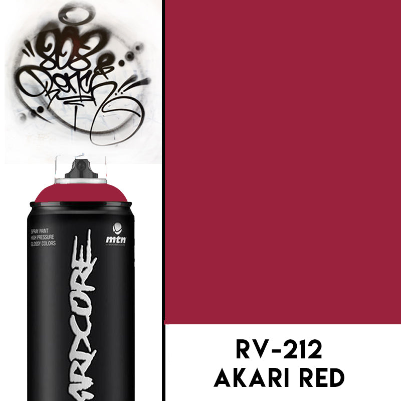MTN Hardcore2 Akari Red