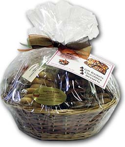Small Gift Basket with mix of Cookies and Bars