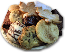 Large Gift Basket with mix of Cookies and Bars