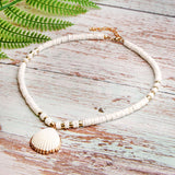 Collier Coquillage <br/> Naturel