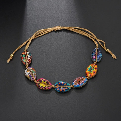 Bracelet Coquillage <br/> Flowers