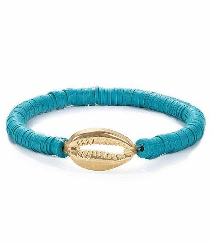Bracelet Coquillage <br/> Turquoise