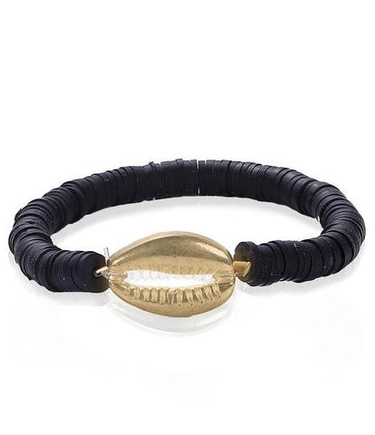 Bracelet Coquillage <br/> Black