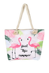 Sac de Plage <br/> Flamant Rose