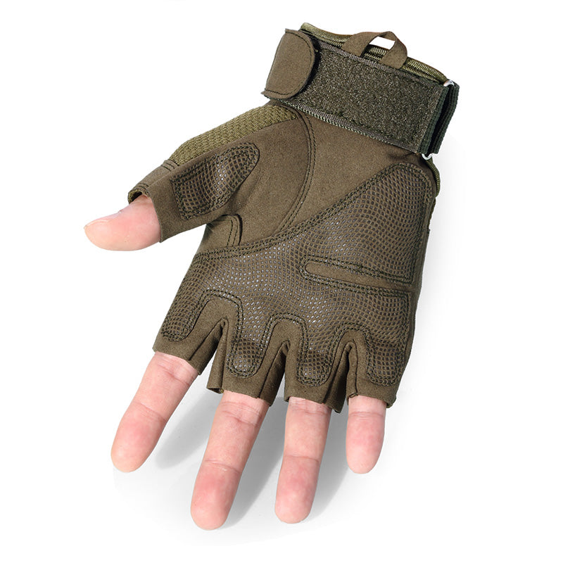 Tactical Military Combat Bicycle Airsoft Half Finger Glove