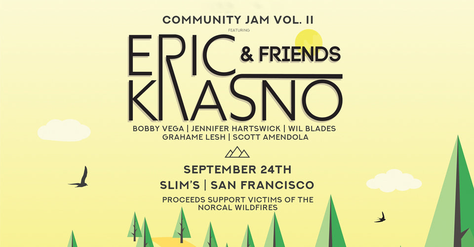 Eric Krasno and Friends Help Raise Money for Cannabis Cultivators with Community Jam II