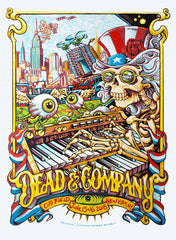 Dead and Company Review Citi Field: Six Proud Walkers On The Jingle Bell Rainbow