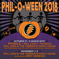 Phil Lesh Announces Phil-O-Ween 2018 Run At Capitol Theatre