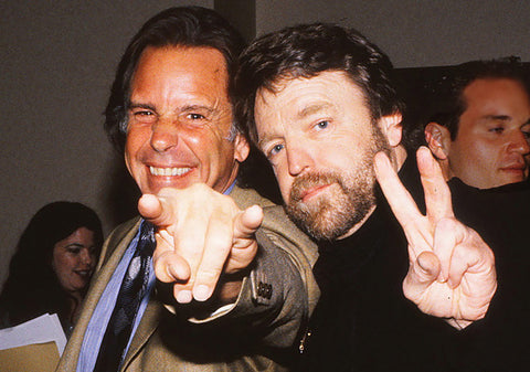 John Barlow and Bob Weir