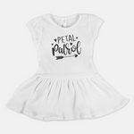 FLOWER GIRL REHEARSAL DRESS