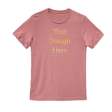 Custom Shirt gold lettering