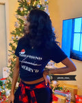 2 Strikes Wifey Christmas Tee