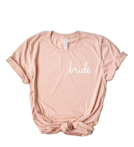 Bride Over Heart Casual Tee