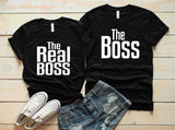 The Real Boss Couples T-shirt
