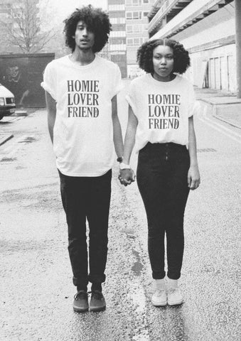 Sugarbaby Homie Lover Friend T-shirt Couples shirts Couples gift Matching Couple's t shirts Short Sleeve Fashion Couple Tees