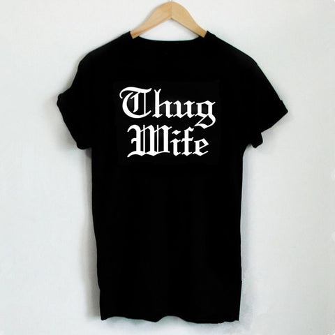 Bride Vibes Thug Wife Tee