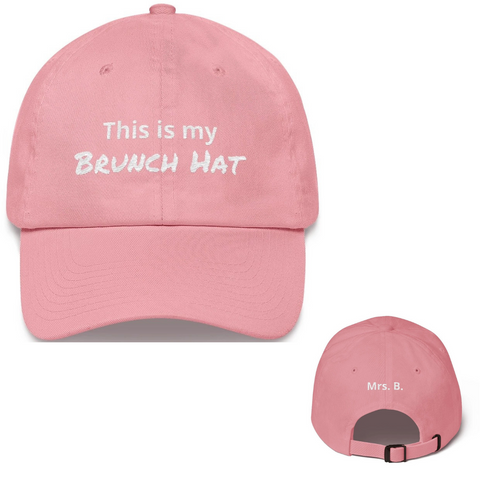 Wifey Brunch Hat