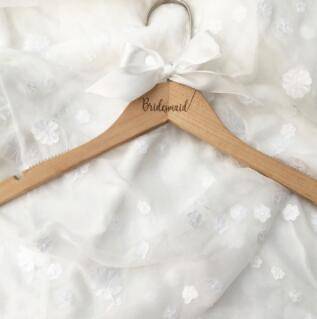 Wedding Dress Hanger personalized, Bride Hanger, Gift for Bride, Wedding party gift, Wedding Hangers, Bridesmaid Gifts