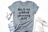 Bride Vibes Wedding Planning Tee