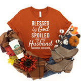 Blessed Spoiled & Thankful Tee