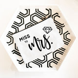 Bridal Party Canvas Cosmetic Bags