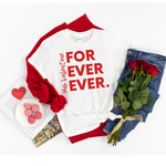 His For Ever Ever Tee White