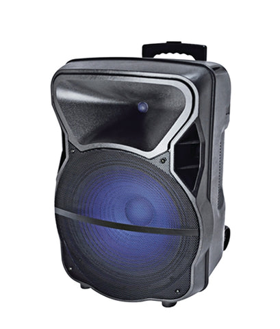 Studio-Z  15in Portable Loudspeaker With Microphone