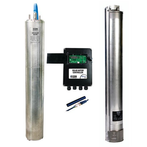 iSolar Bore Pump & Array Combo Kit - DAB S4A18SOL + BIA-ER03PM