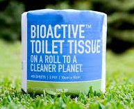 Bioactive® Toilet Paper - 2 ply 400 sheet - Carton of 48 rolls