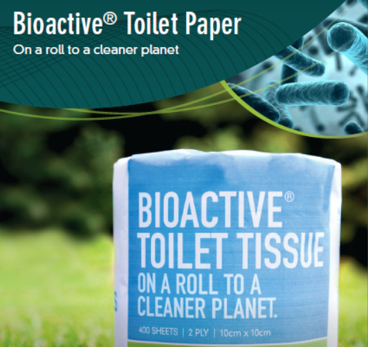 Bioactive® Toilet Paper - 2 ply 400 sheet