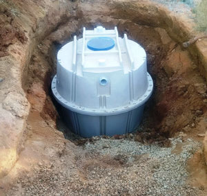 Residential Septic Tank and Leach Drain Kit - 4,000L Septic Tank - non-trafficable - Delivery and Supply to Perth WA only.