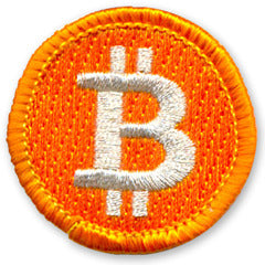 """Bought This Bitcoin Badge With A Bitcoin"" Badge"