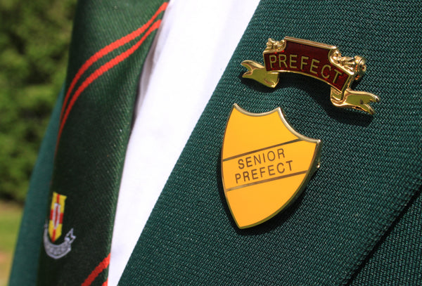 """LEAD DEV"" enamel prefect badge"