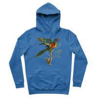 Blue-Bellied Parrot Premium Adult Hoodie