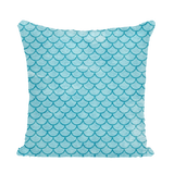 Mermaid Scales Sequin Cushion Cover