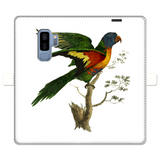 Blue-Bellied Parrot Fully Printed Wallet Cases