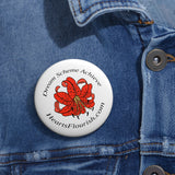 HeartsFlourish.com Pin Buttons