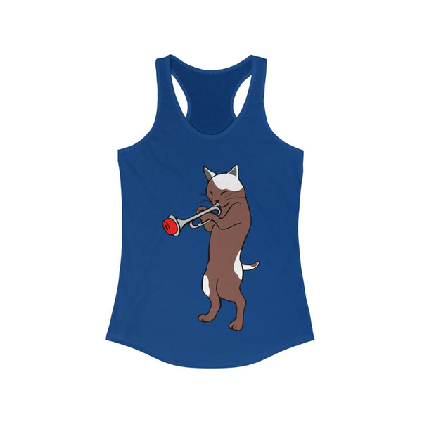 Jazz Cat Racerback Tank