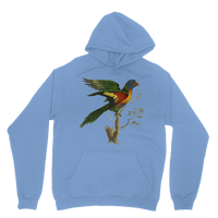 Blue-Bellied Parrot Classic Adult Hoodie