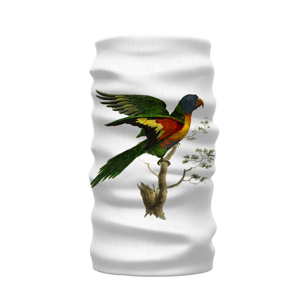 Blue-Bellied Parrot Sublimation Neck Warmer Morf Scarf