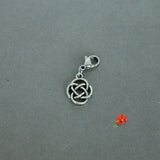 Celtic Knot Charm with Lobster Clasp and 1 Bangle