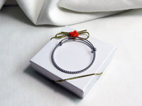 Rope Bangle Bracelet Stainless Steel