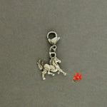 Trotting Horse With Lobster Clasp and 1 Bangle