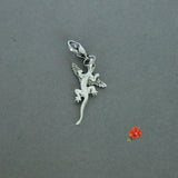 Winged Lizard (baby dragon?) Charm with Lobster Clasp