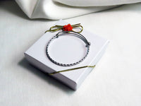 Equestrian Charm  with Lobster Clasp and 1 Bangle